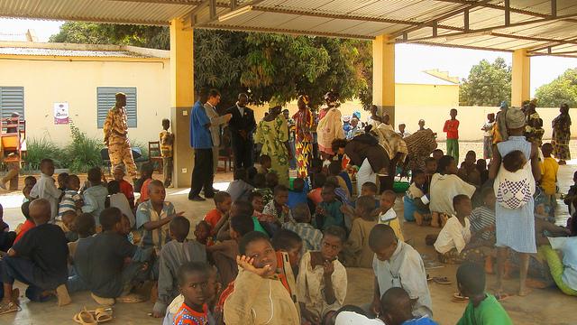 Les accords de coopération décentralisée au Mali (Cercle de Kadiolo) / Photographie C.G Yvelynes / Flickr (c.c)