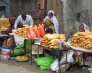 Place Cobadjou de Moroni, Grande Comore, Union des Comores.