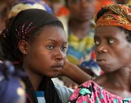 Femmes victimes de violences, soignées à la clinique de Panzi, à Bukavu / Photographie André Thiel / Flickr (c.c)