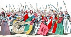 La marche des femmes sur Versailles, le 5 octobre, vue par l'hagiographie des journées révolutionnaires. / Wikimedia communs (c.c)