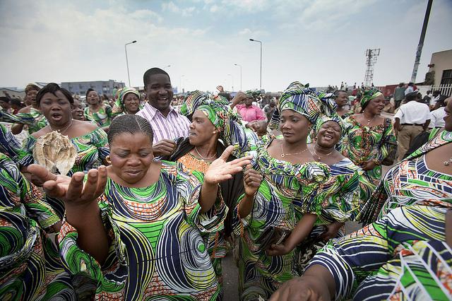 Journée internationale des femmes à Goma le 8 mars 2012. © MONUSCO/Sylvain Liechti