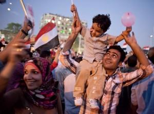 Hommes et femmes se sont retrouvés dans les rues égyptiennes (Égypte, juillet 2013)/Photographie Philippe Martin Flickr (c.c)