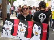 Marche pour l' adoption d'une loi criminalisant la violence domestique, Beyrouth, Liban (2011) / Photo Joelle Hatem / Flickr (c.c)