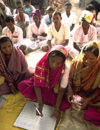"Photo extraite de ""Gender Equality"", Policy in Focus, Janvier 2008 (ipc-undp.org)"