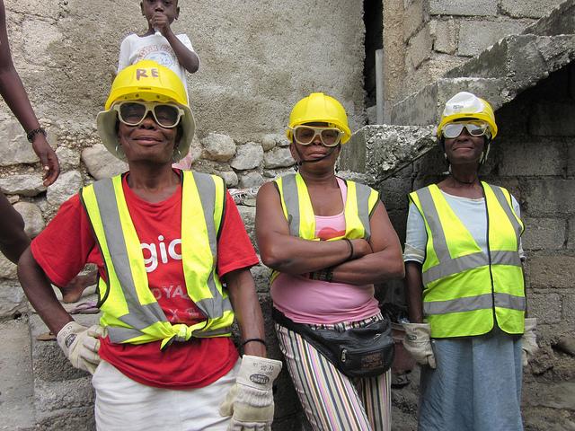 Reconstruction d'Haïti / EU 2011- Photo  EC/ECHO/I.Coello / Flickr (c.c)
