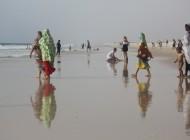 Femmes mauritaniennes à la plage/Photographie  Carlos Reis (flickr c.c)